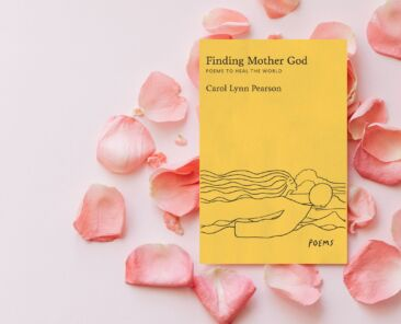 """""""Finding Mother God"""" on a bed of rose petals"""