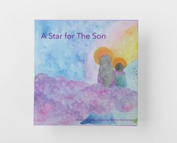 """Mock-up of the book """"A Star for The Son"""""""