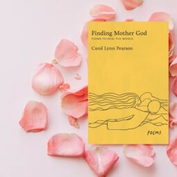 """Finding Mother God"" on a bed of rose petals"